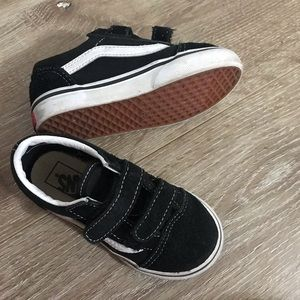 Vans sneakers toddler size 8